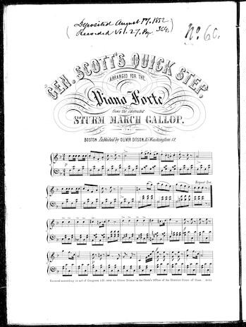 Gen. Scott's quick step [sheet music]