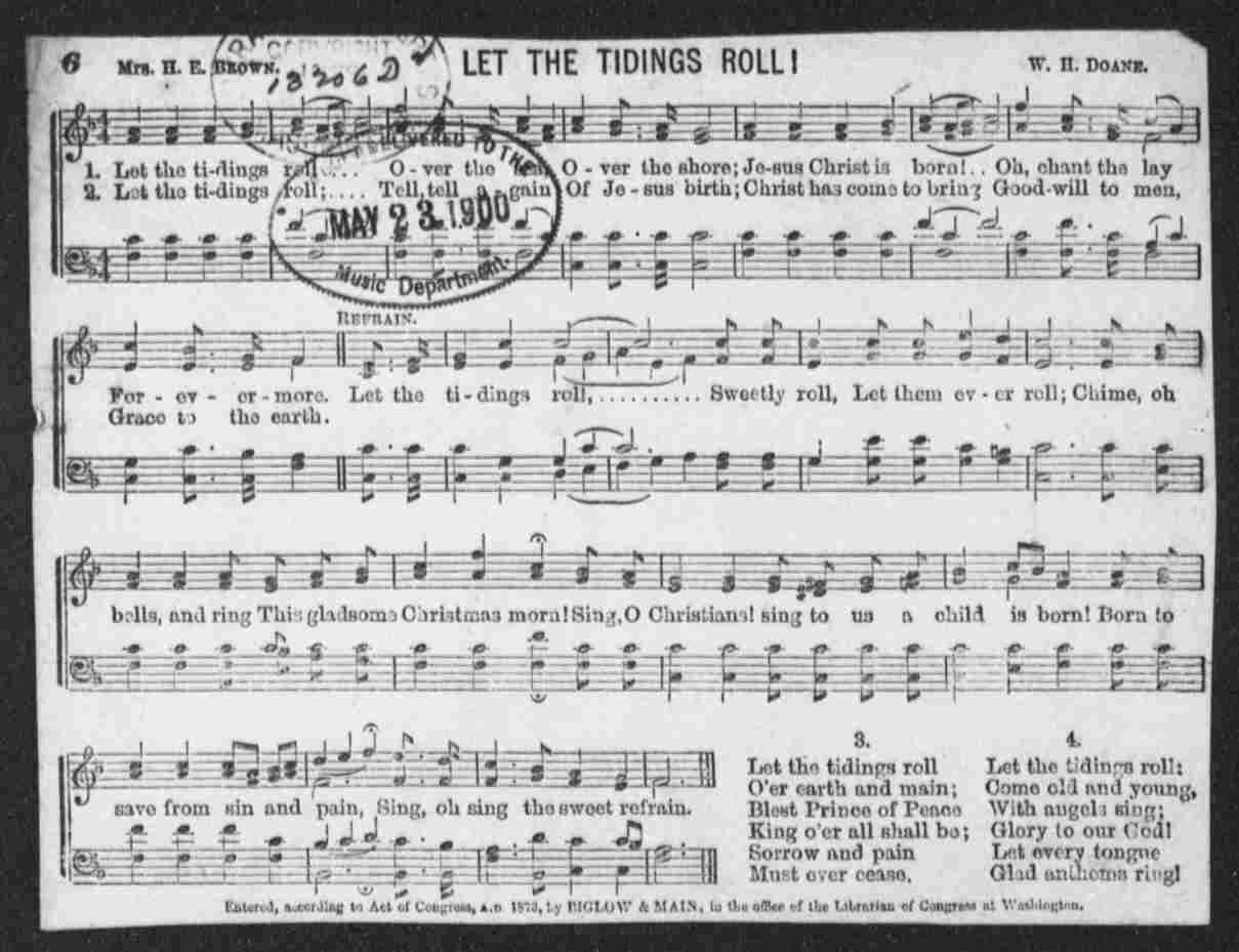 Notated Music, United States, Worship and Praise, Sheet