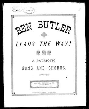 Ben Butler leads the way [sheet music]