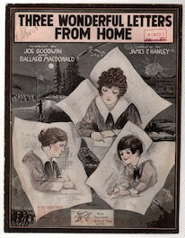 three wonderful letters from home library of congress