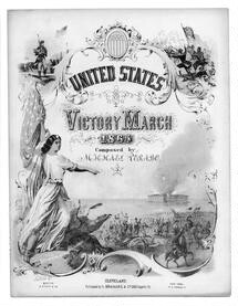 Victory march for the United States, 1865