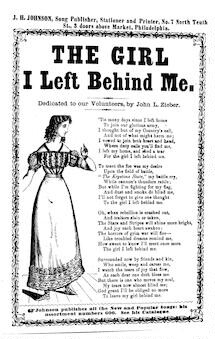 The girl I left behind me. J. H. Johnson, Song Publisher, Philadelphia