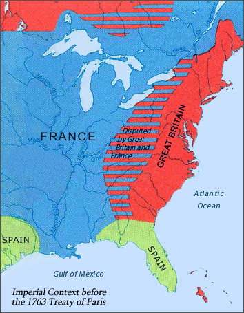Imperial Context in North America before the 1763 Treaty of Paris