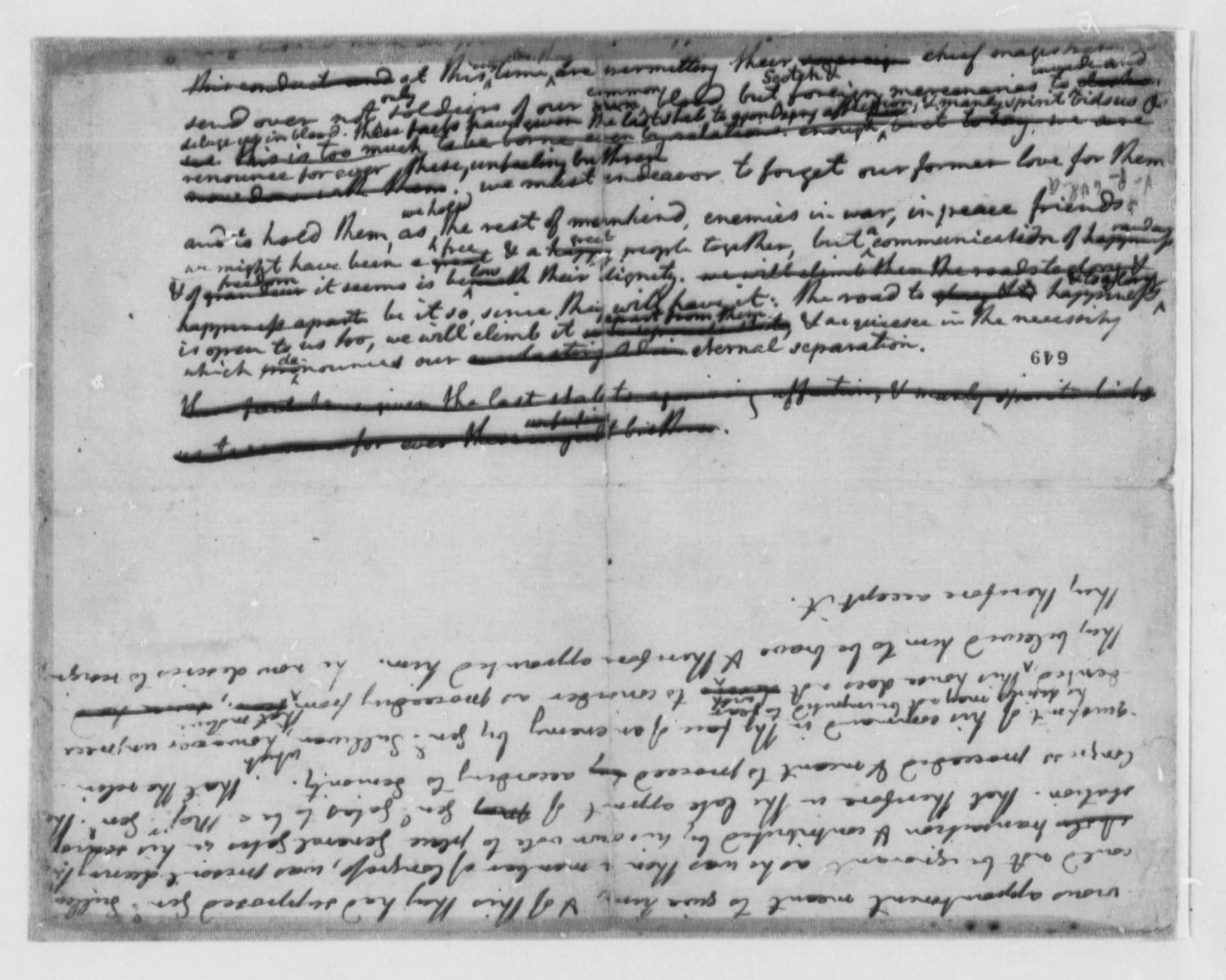 essays on the declaration of independence thomas jefferson draft  thomas jefferson draft fragment of declaration of thomas jefferson 1776 draft fragment of declaration of independence
