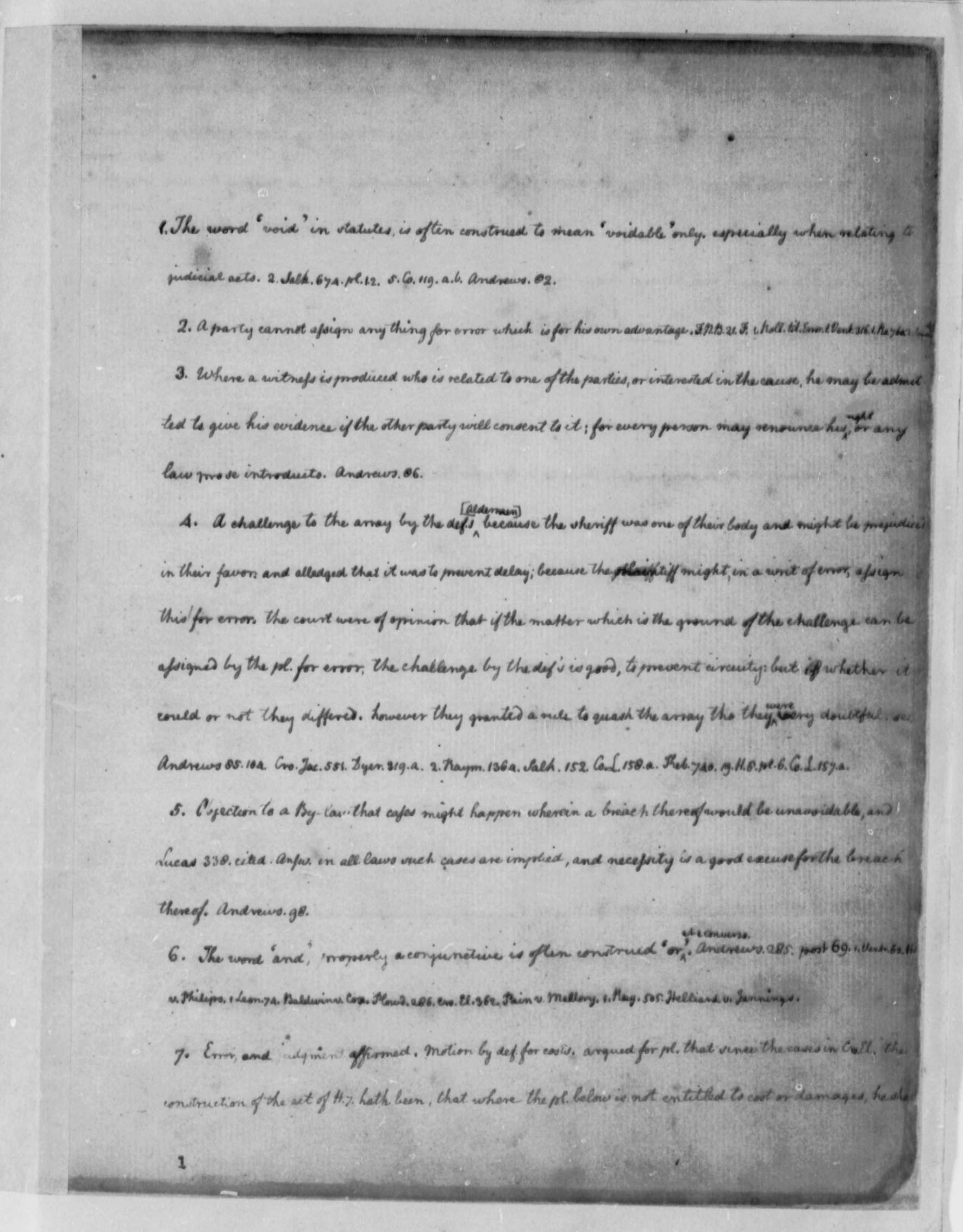 thomas jefferson legal commonplace book library of thomas jefferson 1762 1767 legal commonplace book library of congress
