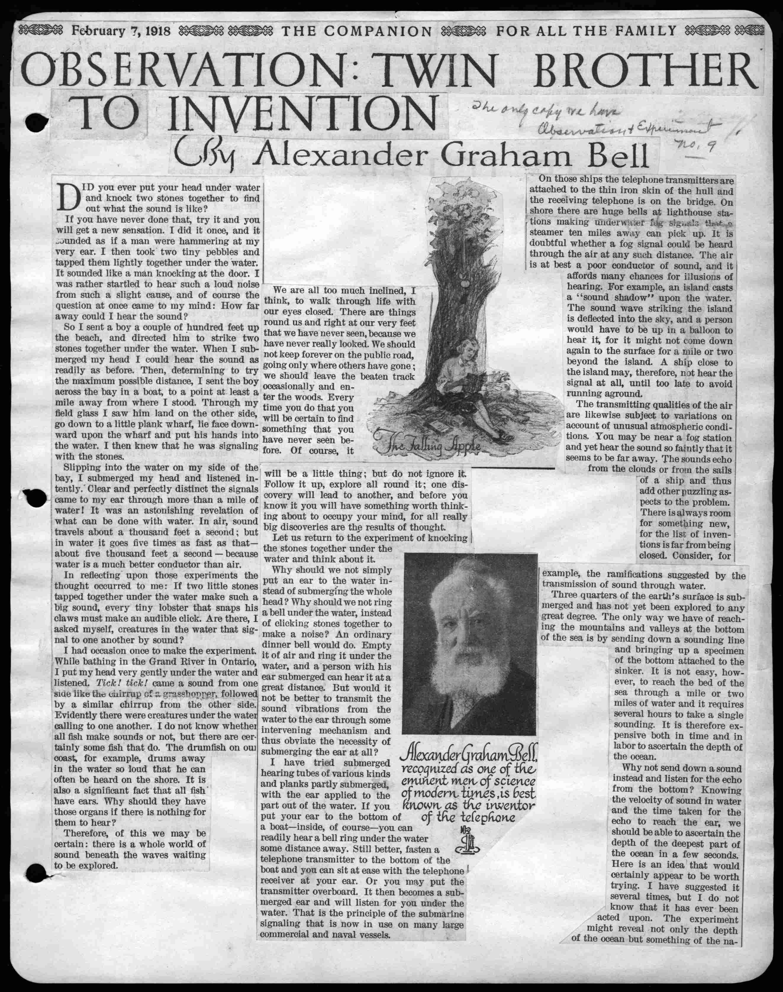 Research paper about alexander graham bell