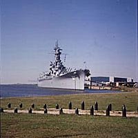Battleship Alabama, September 23, 1999