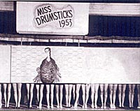Miss Drumsticks Contestants, 1953