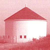 DeLaney Round Barn, built c. 1902