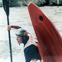 Brenda Ernst in 1999 FIBArk Freestyle Competition
