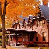The Mark Twain House, Hartford, built 1874