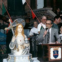 Dedication ceremony - Santa Maria Maddalena Corner, June 1998