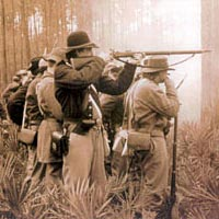 Olustee battle re-enactment, 1995