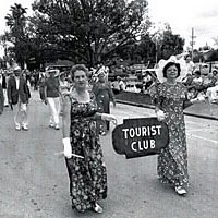 Tourist Club of Zephyrhills marches in Founder's Day Parade