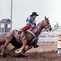 Barrel racing, 2000