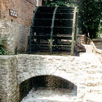 Millrace at Graue Mill and Museum