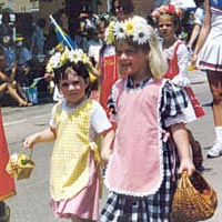 Children march in Kid's Day Parade