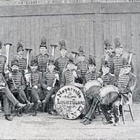 Naperville Light Guard Band, 1875