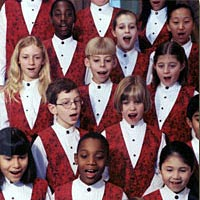Glen Ellyn Children's Chorus Choristers from all ensembles, 1998-1999
