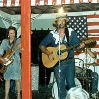 Dale Anderson and his Horizon Band perform, 1987
