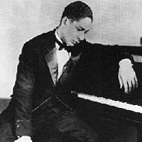 Pianist Jelly Roll Morton, 1890-1941