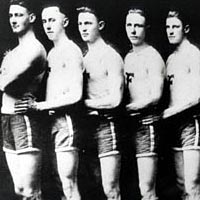 Franklin Wonder Five, 3-time state champions in the 1920s
