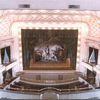 View from the gallery of the Brown Theatre