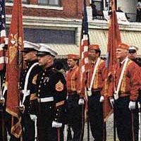 Color Guard, Grand Parade 1998