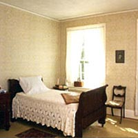 Emily Dickinson's bedroom