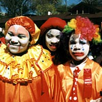 Youth Parade Clowns, 1999 Blossomtime Festival