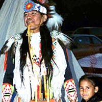 Native American Dancers, September 18, 1999