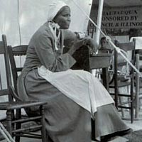 Alice McGill portrayed Sojourner Truth at the June 1999 Chautauqua Festival