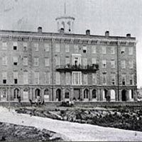 Patee House (hotel) served as headquarters for the Pony Express in 1860