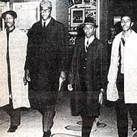 4 students who staged Civil Rights sit-in at Woolworths on Feb. 1, 1960