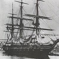 USS Portsmouth, launched in 1844