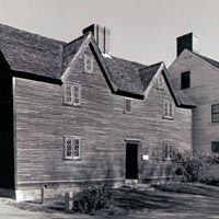 Sherburne House, built 1695, now restored