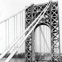 George Washington Suspension Bridge, ca. 1931