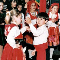 Performance at 1996 anniversary of the Portuguese Cultural Association