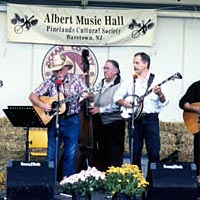 "Albert Music Hall band ""Sweetgrass"" plays at Pine Barrens Jamboree, October 1998"