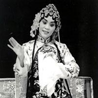 Chinese Opera from Peking artist Kuang-Yu Fong, 1996