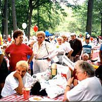 Community group at Bergen County Senior Picnic