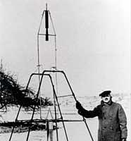 Robert Goddard, the &quot;father of liquid-fueled rocketry,&quot; did many of his experiments near Roswell during the 20s and 30s