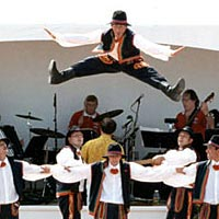 Lachy Sacz , 1999 - Folkdance from southern Poland