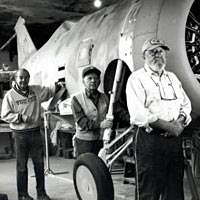 Volunteers restore planes at the Cradle of Aviation Museum at Mitchell Field