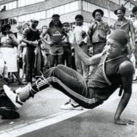 Breakdancing at Allentown Art Festival, 1984