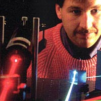 Experiment in laser optics