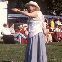Annie Oakley Shooting Contest, July 1999