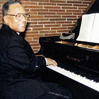 "Mozart C. Perry plays for program ""Jazz Greats of Toledo,"" honoring Art Tatum, October 1995"