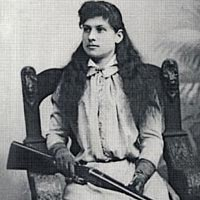 Annie Oakley, Columbus, Ohio, 1893