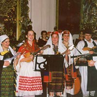 Rankin Junior Tamburitzans perform at the White House, December 1998